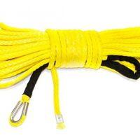 Трос для лебедки синтетический 10 мм*18 метров (желтый) 5454