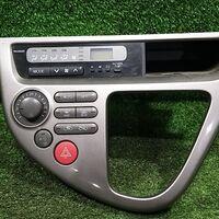Консоль блока управления климат-контроля Toyota Wish ZNE14 1ZZFE 2005
