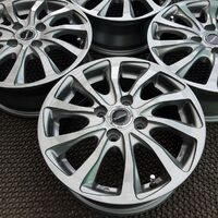 Диски R14 Bridgestone Balminum (графит) 4х100 (+45). Без пробега по РФ