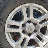4 штатных колеса на ТЛК Прадо 150