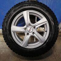 Продаются 4 колеса в сборе Ice Guard 215/65. Диски практически новые.