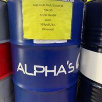 Масло ALPHA/SUMICO 5W-30     SP/CF GF-6A синт. 369руб./1л. (Япония)