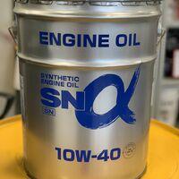 Моторное масло Alphas 10W-40 SN синтетическое, бензиновое (Япония)