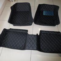 3D коврики Boost из эко кожи на Toyota LC Prado 150