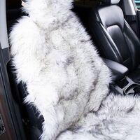 Продам меховой чехол автомобильный, цвет Snow White. Новый