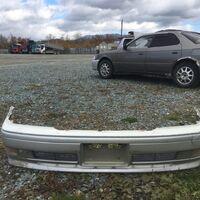 Бампер передний Toyota Crown 151 с противотуманками