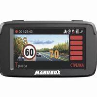 3 в 1 Marubox M600R: Антирадар, видеорегистратор, GPS