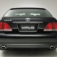 Накладка бампера wald Toyota Crown 180 05 -08г GRS180, 181,184