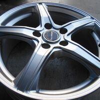 Диски R17 Bridgestone Balminum (звезда) 5х114.3 (+38) из Японии