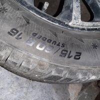 Колеса в сборе. 215/60R16 продам плект 4 шт. зимних шипованных колёс.